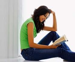 favourite book-woman reading